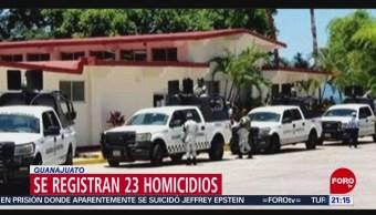 Foto: Fin De Semana Registraron Homicidios Guanajuato 12 Agosto 2019