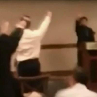 Captan en video a estudiantes de prepa haciendo el saludo nazi
