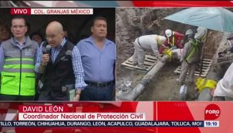 FOTO: Explican a vecinos de Iztacalco situación por toma clandestina, 25 Agosto 2019