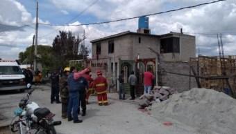 Explosión de pirotecnia en Tultepec