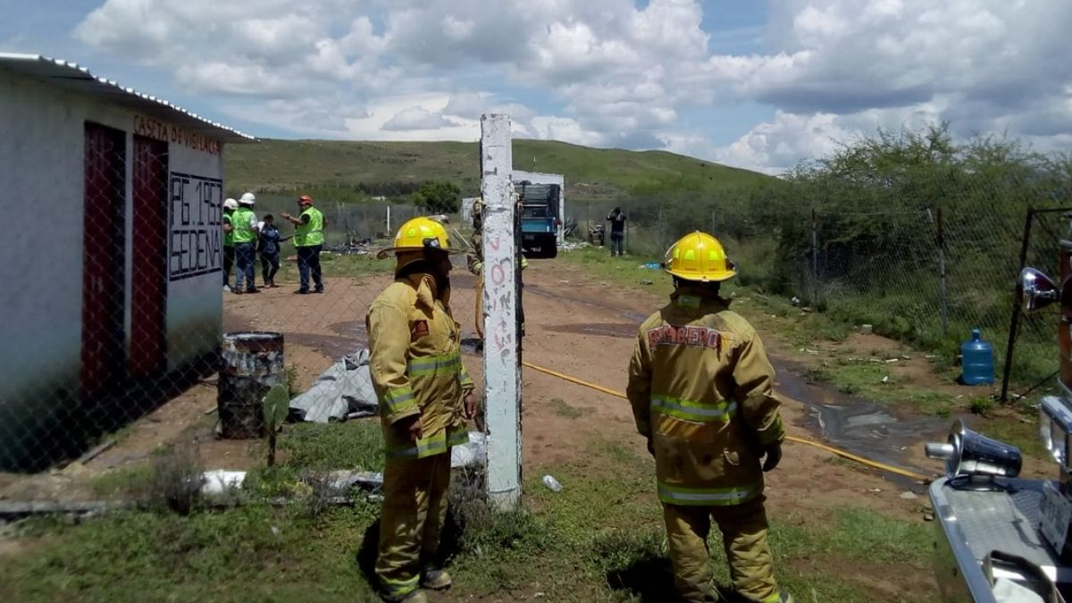 Explosión de polvorín en Oaxaca.
