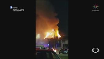 Foto: Extorsionadores Prenden Fuego Establecimientos Coatzacoalcos 28 Agosto 2019