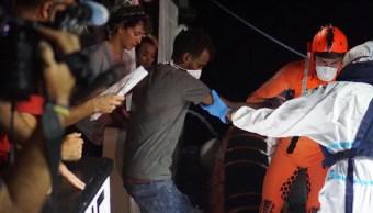 Foto: Se sigue una investigación por secuestro iniciada en los últimos días sobre las quejas de la organización española Open Arms, 20 de agosto de 2019 (EFE)