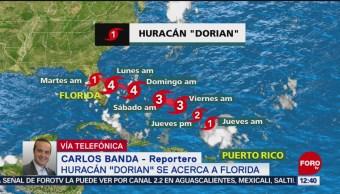 """Florida se prepara para los efectos del huracán """"Dorian"""""""