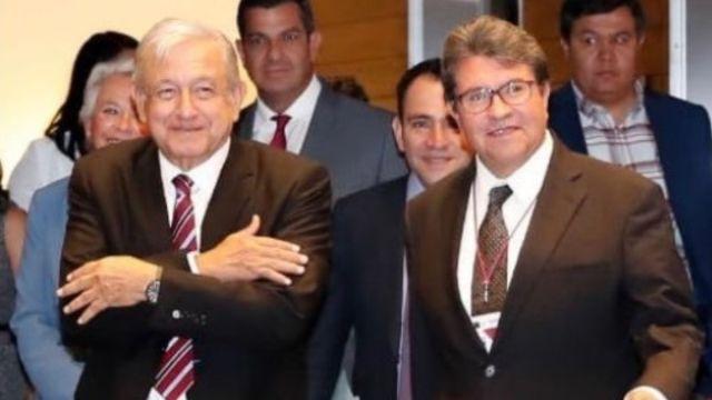 Foto: El presidente de México, Andrés Manuel López Obrador, y el senador morenista, Ricardo Monreal. Twitter/@RicardoMonrealA