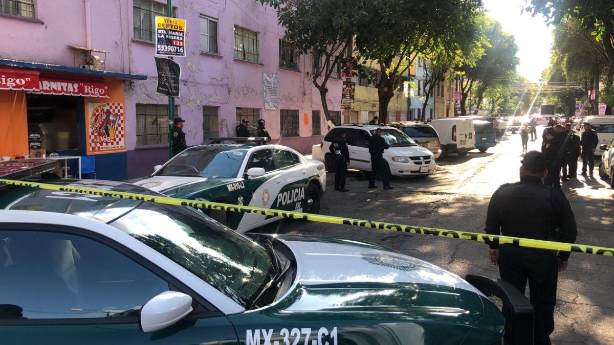 Foto: Policías de la Ciudad de México acordonaron la zona. El 8 de agosto de 2019. Noticieros Televisa