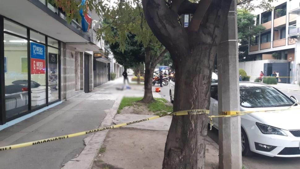 Foto: Los hechos ocurrieron en la esquina de Edgar Allan Poe y Ejército Nacional en la colonia Polanco, en la alcaldía Miguel Hidalgo, 21 de agosto 2019. (Noticieros Televisa )