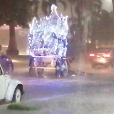 Video: Caballo cae agotado por jalar calandria en calles de Acapulco