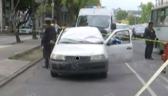 Foto: El incidente ocurrió cuando el hombre circulaba en Calzada La Viga, en la alcaldía Cuauhtémoc, en Ciudad de México. El 6 de agosto de 2019. FOROtv