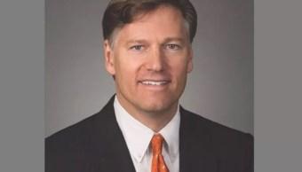 Foto: Christopher Landau embajador de Estados Unidos en México. El 29 de septiembre de 2017. Wikipedia