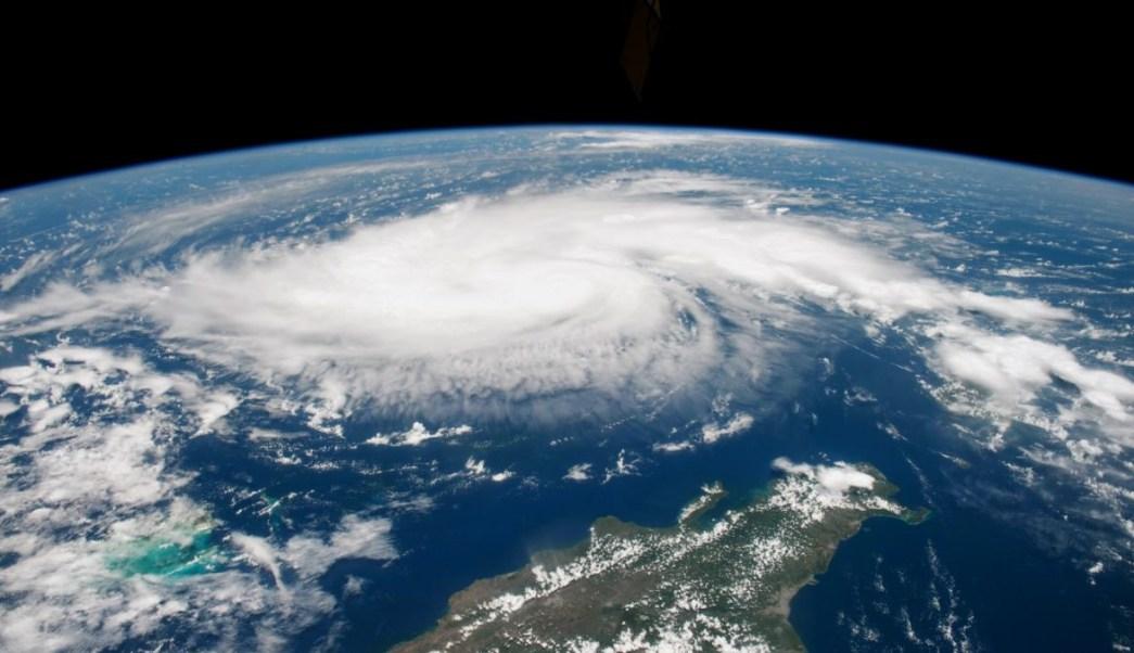 "Foto: Imagen satelital del huracán ""Dorian"". NASA"