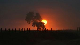 Foto: El sol se pone sobre un tramo de la jungla amazónica que está siendo limpiada por madereros y agricultores en Canarana, en Mato Grosso, Brasil. Reuters/Archivo