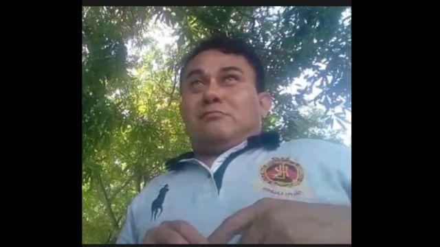 """Foto: Nelson Matus, director del portal de noticias """"Lo Real de Guerrero"""". Twitter/@real_guerrero"""