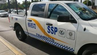 Foto: Una patrulla de la SSC-CDMX atropelló y mató a una señora. El 15 de agosto de 2019. Twitter/@ari_santillan