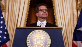 Foto: Pedro Pierluisi juró como nuevo gobernador de Puerto Rico. El 2 de agosto de 2019. Efe