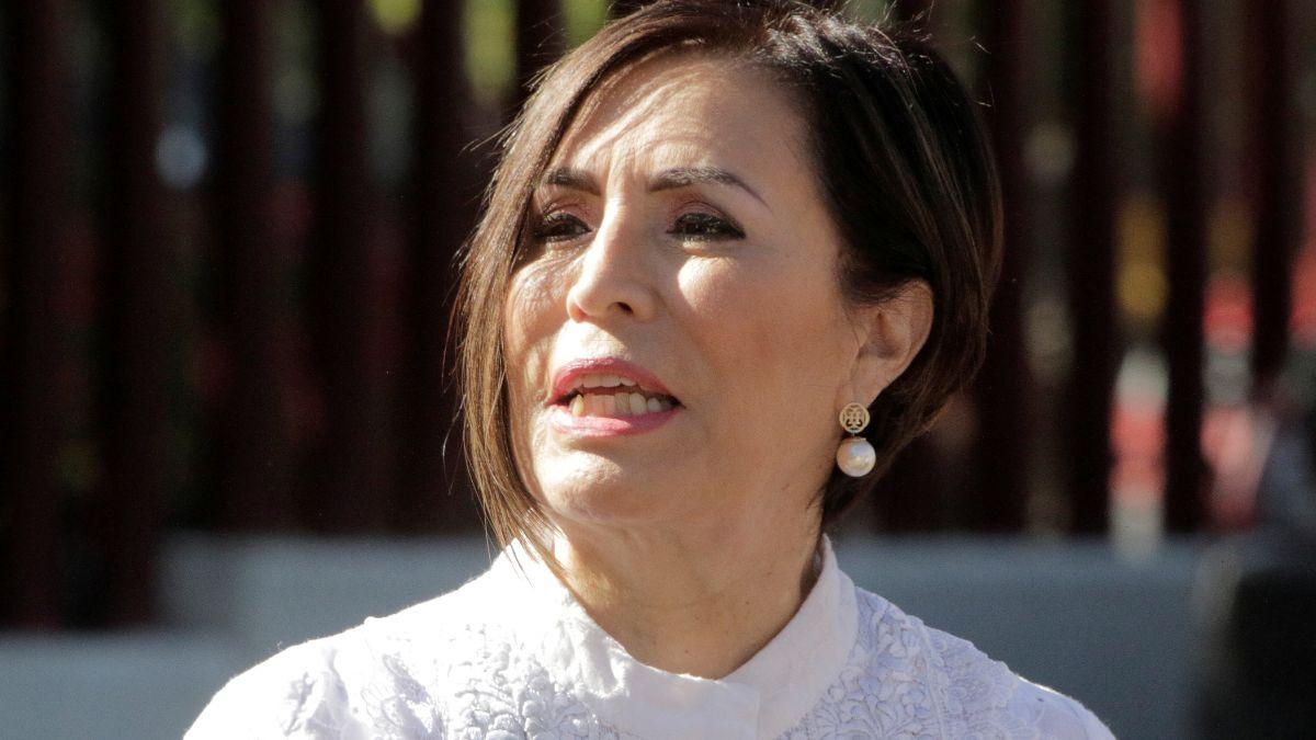 Foto: Rosario Robles, exsecretaria de Desarrollo Agrario, Territorial y Urbano de México. El 8 de agosto de 2019. Reuters