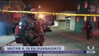 Fuera de control la violencia en Guanajuato