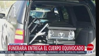 Funeraria Entrega Cuerpo Equivocado Nuevo León