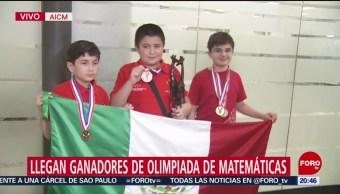 Foto: Ganadores Olimpiada Matemáticas Agradecen Guillermo Del Toro 7 Agosto 2019
