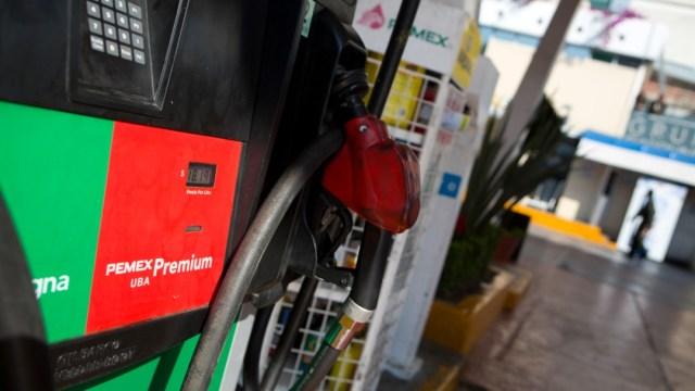 Foto: Venta de gasolina en México, 25 octubre 2019