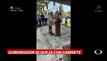 Foto: Gobernador Tamaulipas Advirtió Riesgo Reunión Subsecretario Peralta 19 Agosto 2019