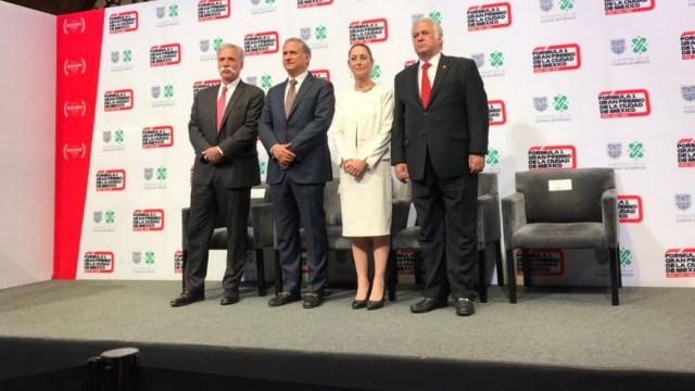 FOTO Habrá Gran Premio de la Ciudad de México por tres años en Fórmula 1 (Twitter @mexicogp)