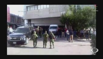 Foto: Guardia Nacional Catea Instalaciones Seguridad Pública Los Reyes La Paz 20 Agosto 2019