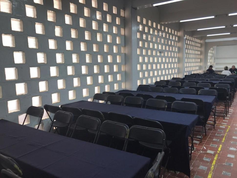 FOTO Guardia Nacional recibe cuartel en la Alcaldiá Venustiano Carranza de la CDMX (Noticieros Televisa)
