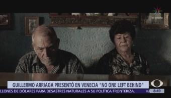 Guillermo Arriaga plasma su visión sobre migración, en cortometraje