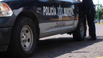 Imagen: El vocero de la Fiscalía de Jalisco, Ricardo Franco, indicó que a los heridos los tenían casi desnudos, con visibles muestras de tortura, 12 de agosto de 2019 (Twitter @PoliciaZapopan)