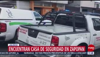 Foto: Hallan Cinco Muertos Casa Seguridad Zapopan Jalisco