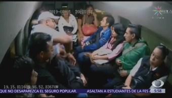 Hombres armados asaltan combi en Chalco, Edomex