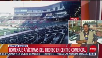 Foto: Homenaje Víctimas Tiroteo El Paso Texas 14 Agosto 2019