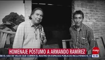 FOTO: Homenaje póstumo escritor Armando Ramírez