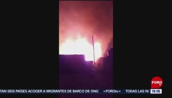 FOTO: Incendio Reclusorio Oriente deja tres muertos