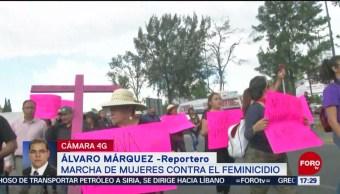 FOTO: Inicia Marcha Mujeres Ecetepec,