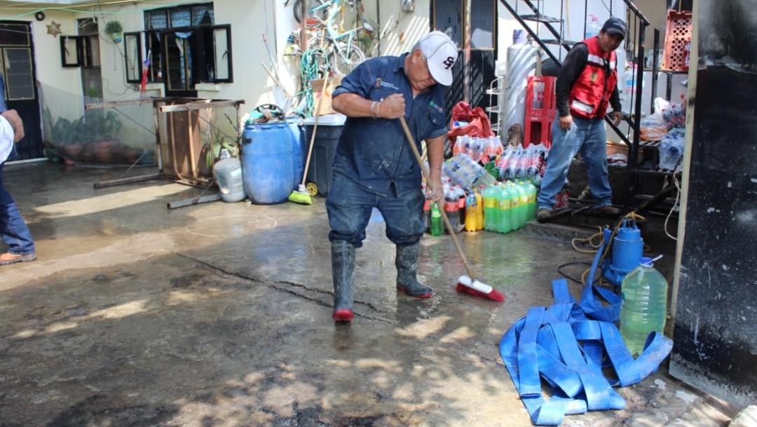 Foto: Inundaciones en Cuautitlán, Izcalli, 6 de agosto de 2019, Estado de México