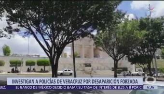 Investigan a policías tras hallazgo de cuerpos en Veracruz