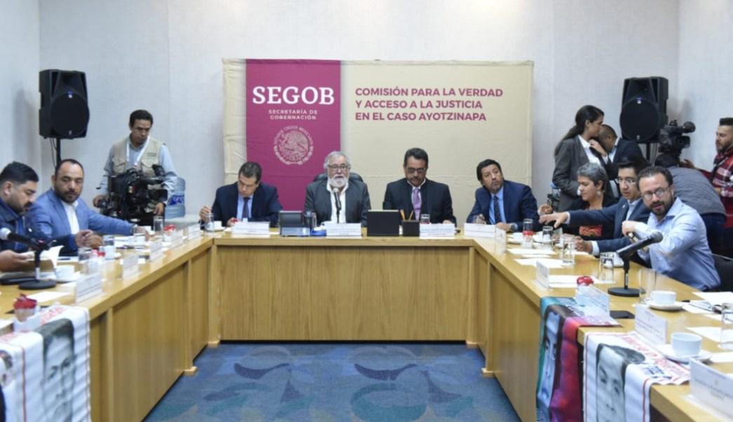 Foto: El representante de la SSPC destacó que el esclarecimiento pleno del caso Ayotzinapa permitirá dar un claro mensaje de rechazo a la corrupción, 21 de agosto de 2019 (Twitter @A_Encinas_R)