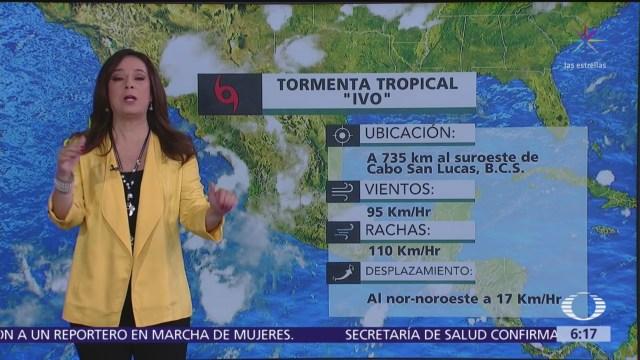 'Ivo' continuará ocasionando lluvias intensas en Baja California Sur