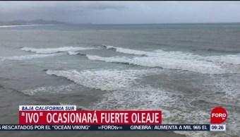 FOTO: 'Ivo' ocasionará fuerte oleaje en Baja California Sur, 24 Agosto 2019