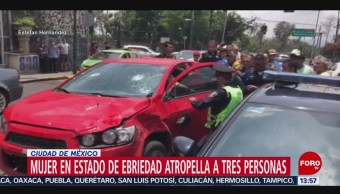 Foto: Mujer Ebria Mata Persona Tercera Edad Atropella Repartidor 5 de Agosto de 2019