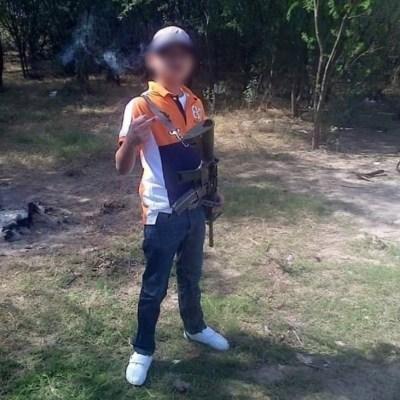 'Juanito Pistola', el niño sicario del Cártel del Noreste, entre los abatidos en Nuevo Laredo