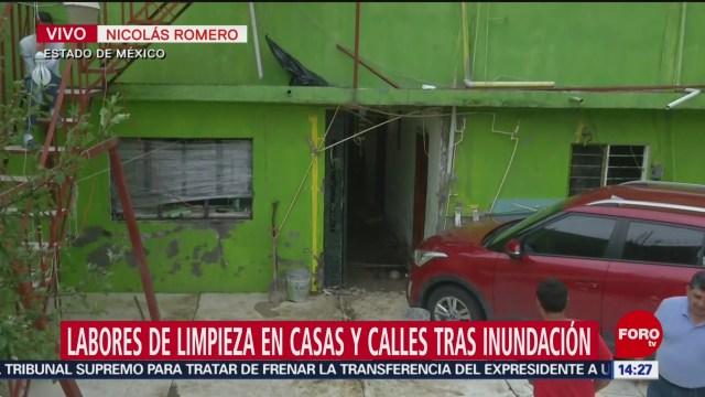 FOTO: Labores Limpieza Tras Inundación Nicolás Romero