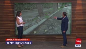 #LaCámaraUrbana en Expreso: Calles en malas condiciones en la CDMX