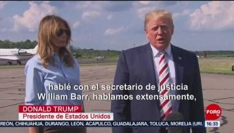 FOTO: Las muestras de odio no tienen cabida en EEUU: Trump, 4 Agosto 2019
