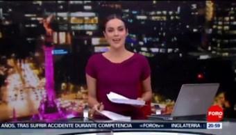 Foto: Las Noticias Danielle Dithurbide Forotv 5 Agosto 2019