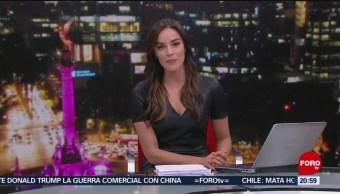 Foto: Las Noticias Danielle Dithurbide Forotv 6 Agosto 2019