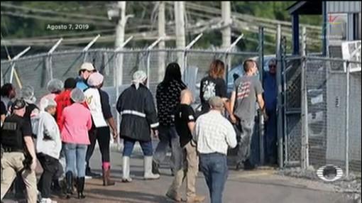 Foto: Liberan 34 Migrantes Mexicanos Detenidos Misisipi 8 Agosto 2019