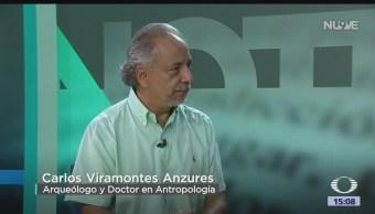 FOTO: Libro La Memoria De Los Ancestros Carlos Viramontes Anzures